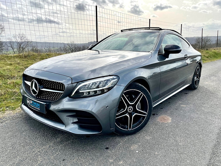 MERCEDES CLASSE C COUPE 220 CDI 194ch AMG LINE 9G-TRONIC