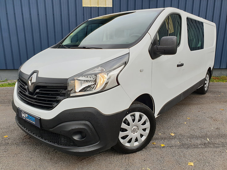 RENAULT TRAFIC III 1.6 DCI 125ch GRAND CONFORT L2 CABINE APPROFFONDIE