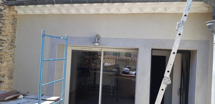 Rénovation luminaire décoratif extérieur