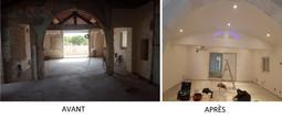 Rénovation appartement avant et après