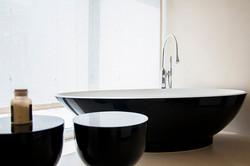 Master bathroom - bath detail