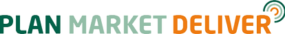 Plan Market Deliver logo