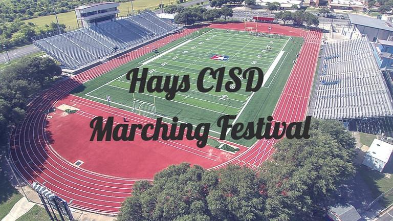 Hays CISD Marching Festival