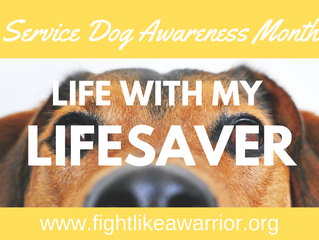 Life with My Lifesaver: A look into my daily life with a service dog