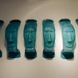 שיבוט - מוזיאון הזכוכית ערד - פסל זכוכית
