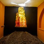 שואה - מוזיאון הזכוכית ערד - פסל זכוכית