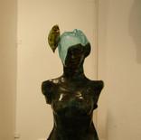 אנדרוגינוס - מוזיאון הזכוכית ערד - פסל זכוכית