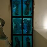 קיר הרוחות - מוזיאון הזכוכית ערד - פסל זכוכית