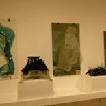 הריון ולידה - מוזיאון הזכוכית ערד - פסלי זכוכית