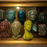 תמונת מחזור - מוזיאון הזכוכית ערד - פסל זכוכית