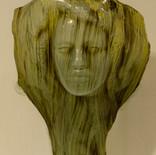 הרהורים - מוזיאון הזכוכית ערד - פסל זכוכית