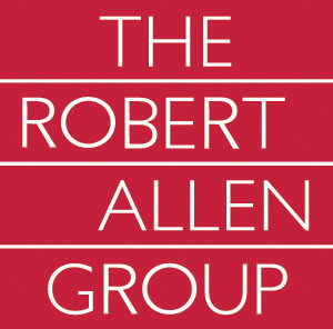 New corporate logo designed for the Robert Allen Group