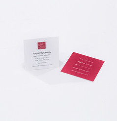 New business card designed for Robert Allen