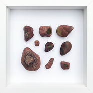 30x30 sten i ramme (600,- pr. stk.)