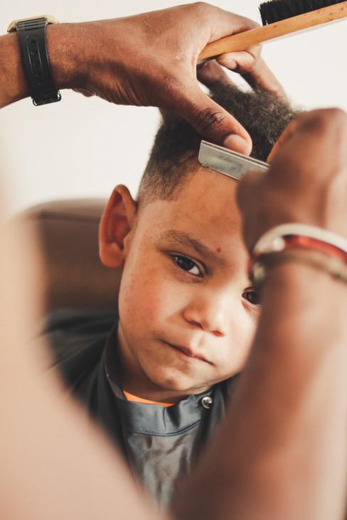 Haircut by BTC