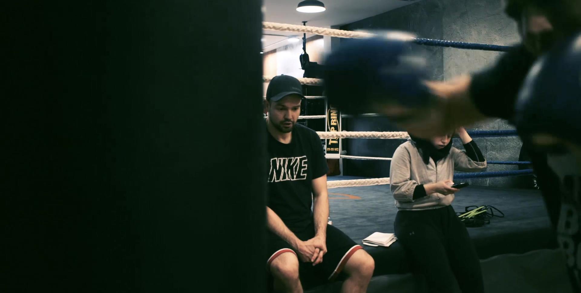 James Boom Boom Mancini at Canada Fighting