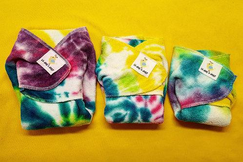 Tie Dye Perfect Prefolds