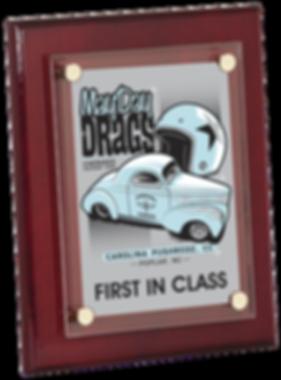 Rallyes Floating Acrylic Award