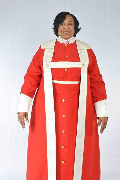 3-Piece Ladies Bishop Vestment Cassock