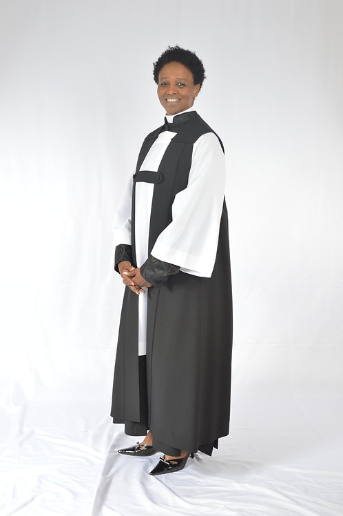Cassock, Surplice, Chimere, and Tippett Set