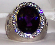 Bishop Ring Amethyst