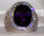 Bishop Ring Amethyst