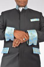 Men's Suit with brocade trim 3
