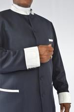 Men's Suit with brocade trim 2