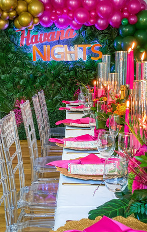 Havana Nights Intimate at Home Dinner
