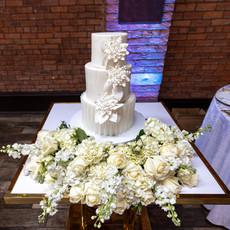 Wedding Cake Set up
