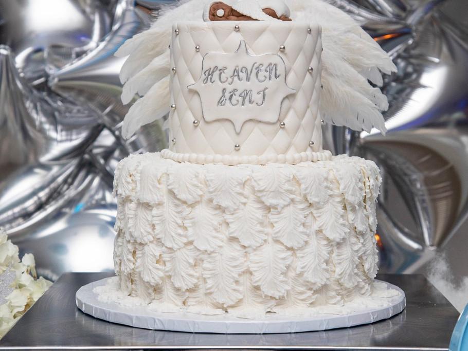 Heaven sent cake