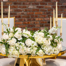 Floral Detail for Sweetheart Table