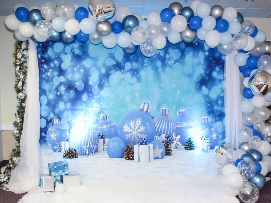 Winter wonderland set & repeat