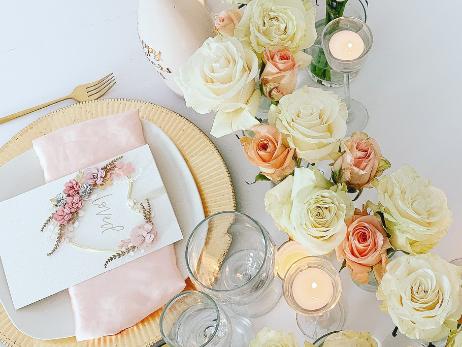 """""""Loved"""" Table Setting"""