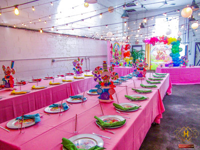 Colorful Candyland 1st birthday