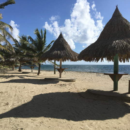 Beachside at Hotel Guanaja
