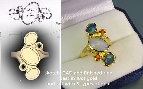 5  opal ring