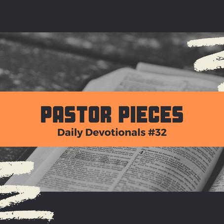 February 16, 2021 - Tuesday - Devotional #32