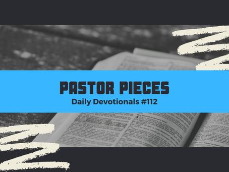 June 8, 2021 - Tuesday - Devotional #112