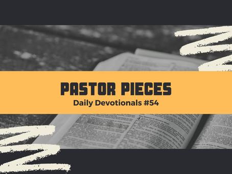 March 18, 2021 - Thursday - Devotional #54