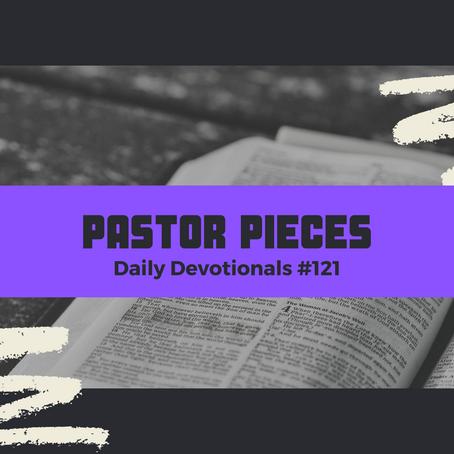 June 21, 2021 - Monday - Devotional #121