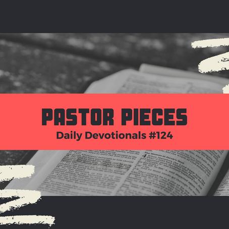 June 24, 2021 - Thursday - Devotional #124