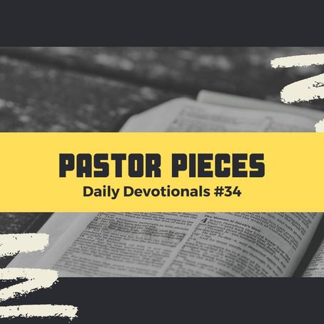 February 18, 2021 - Thursday - Devotional #34