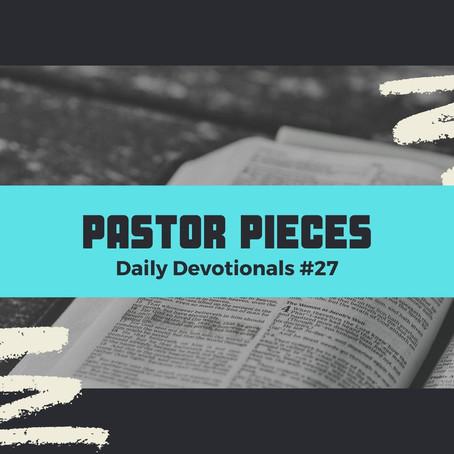 February 9, 2021 - Tuesday - Devotional #27