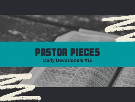 January 20, 2021 - Wednesday - Devotional #13