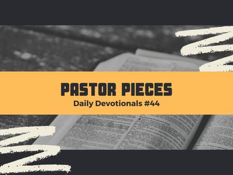 March 4, 2021 - Thursday - Devotional #44