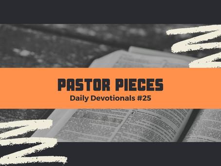February 5, 2021 - Friday - Devotional #25
