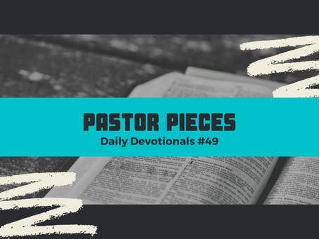 March 11, 2021 - Thursday - Devotional #49