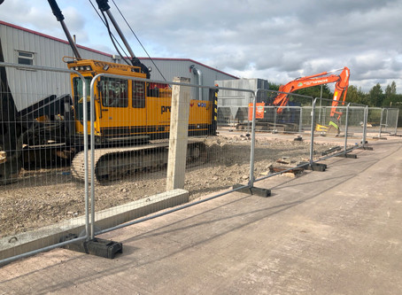 Lancer Buildings Extension Begins With A Bang !