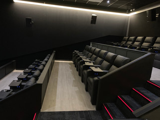'The Directors Lounge.'  Eclipse Cinemas Lifford - Strabane